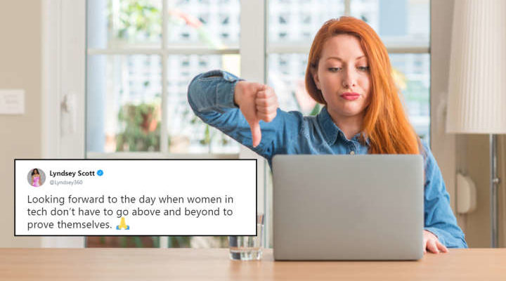 The Internet's Reaction To This Model Programmer Shows Sexism In